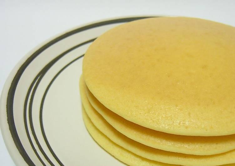 Rice Flour and Soy Milk Pancakes