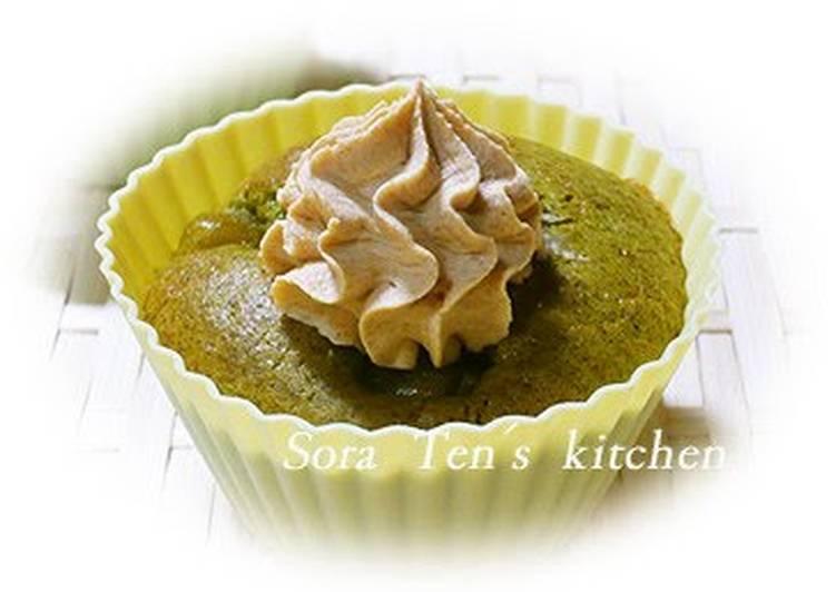 What is Dinner Ideas Vegan Kinako Roasted Soybean Powder Whipped Cream