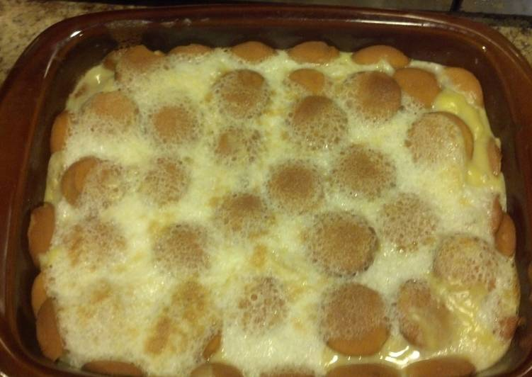 Lisa's banana pudding from scratch