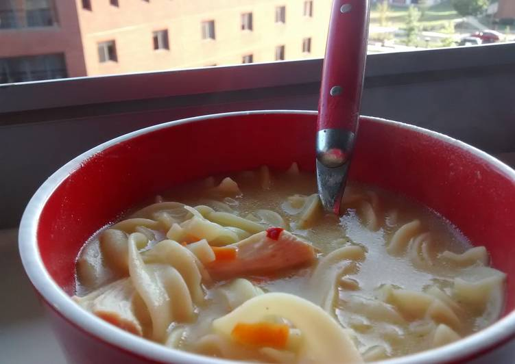 Step-by-Step Guide to Prepare Award-winning Homemade Creamy Chicken Noodle Soup