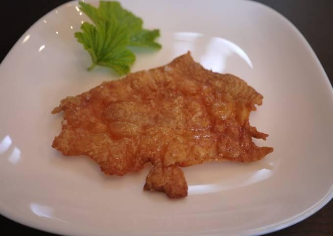 Crunchy, Crispy, Chicken Skin Crackers ♪