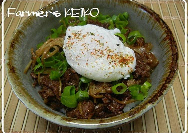 How To Make Your Recipes Stand Out With Beef, Egg, and Onion Rice Bowl