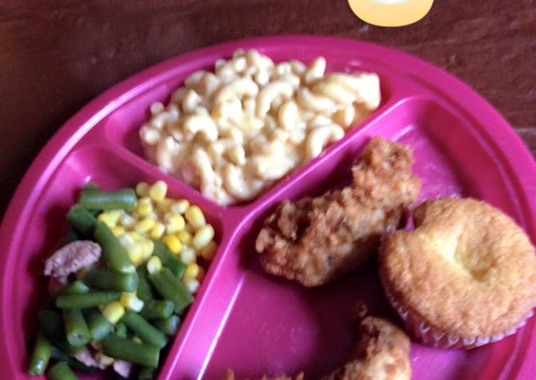 Try Using Food to Improve Your Mood Ranch Chicken Meal