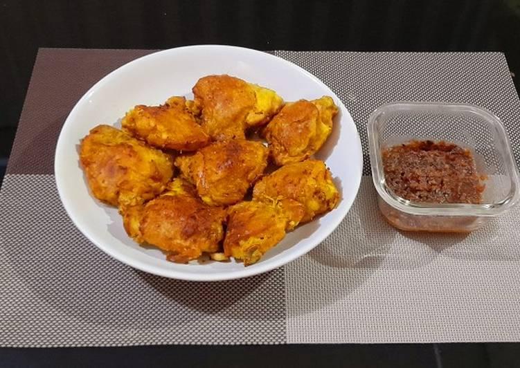 Ayam goreng ukep oregano