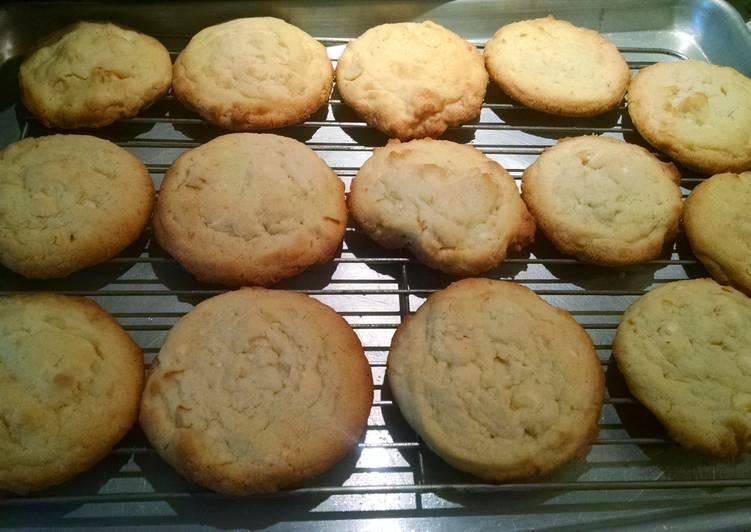 Orange Creamsicle sugar cookie