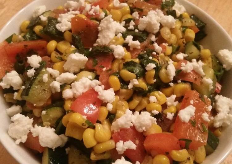 Veggie Saute w/ Spinach & Feta