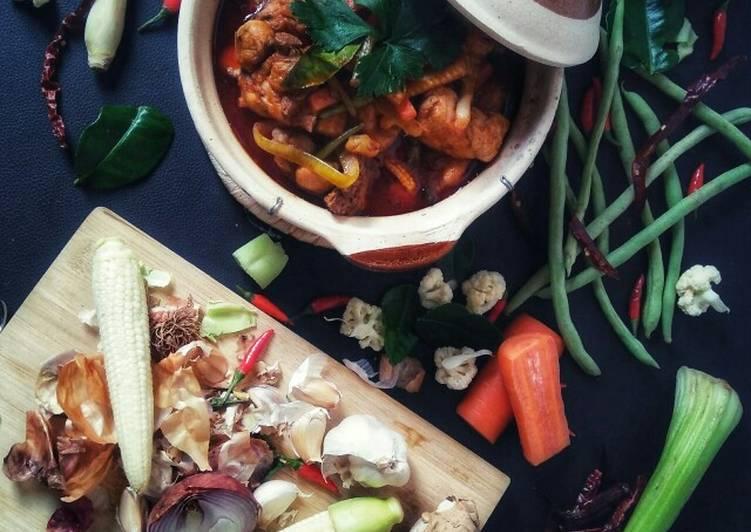 Paprik Ayam ala Thai (IG & FB : Resepi Dapur Kak Nad)