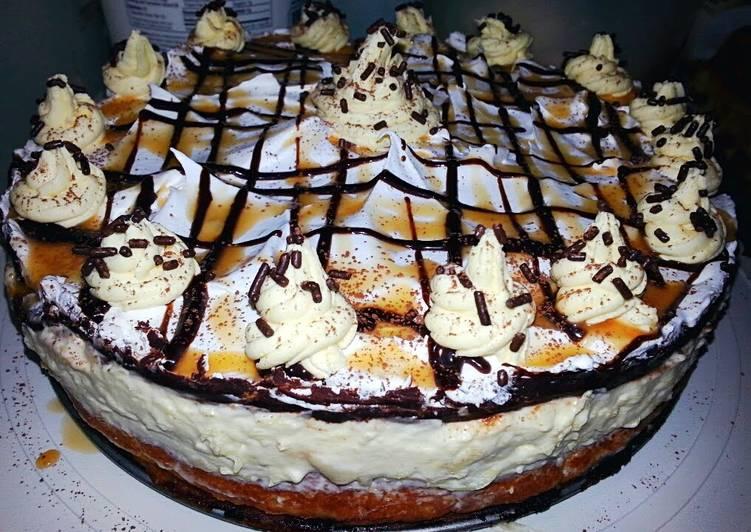 ~Ray's Chocolate Banana Eclair Cake~