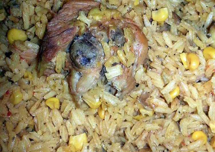 How to Cook Tasty Arroz con Pollo / Rice with Chicken