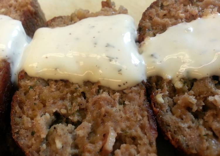 Turkey Bacon-Ranch Meatloaf