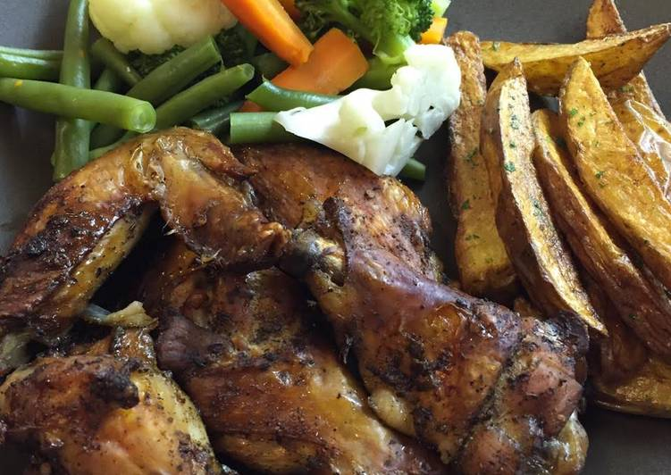 Recipe of Perfect Spicy Chicken Wing with Jamaican Jerk Rub