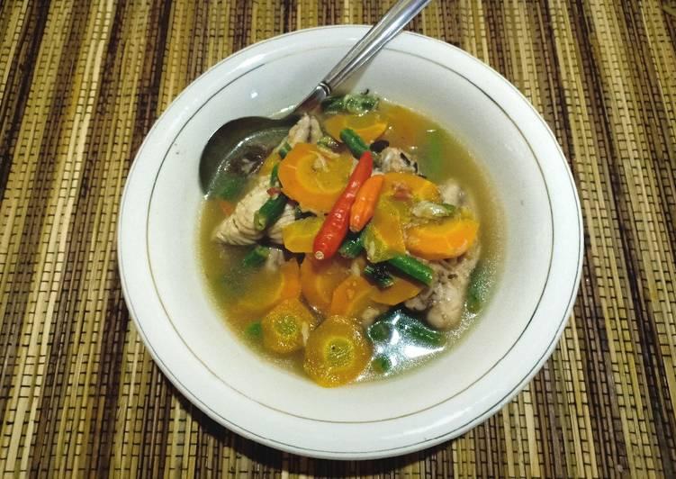 Fish soup atau sup ikan sehat cocok untuk diet