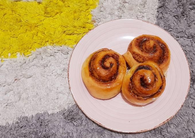 Resep Cinnamon Roll with Sugar Glaze Ala William Gozali MasterChef Indonesia