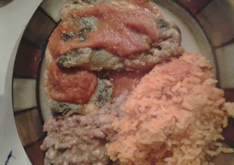 Chiles Rellenos and Fresh Salsa?