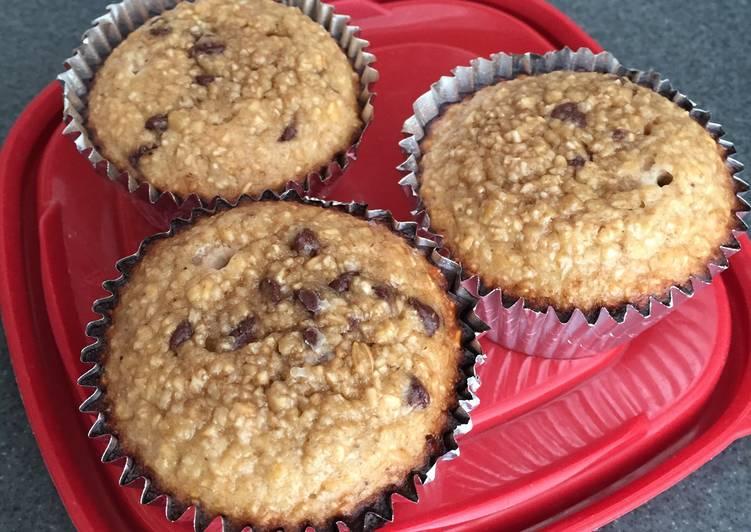 Recipe of Favorite Banana Protein Muffins