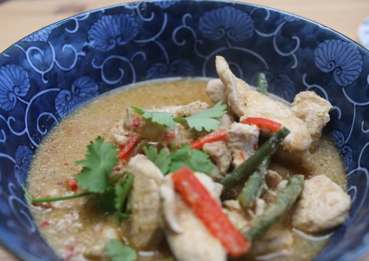 Chicken Panang Curry Choosing Fast Food That's Fine For You