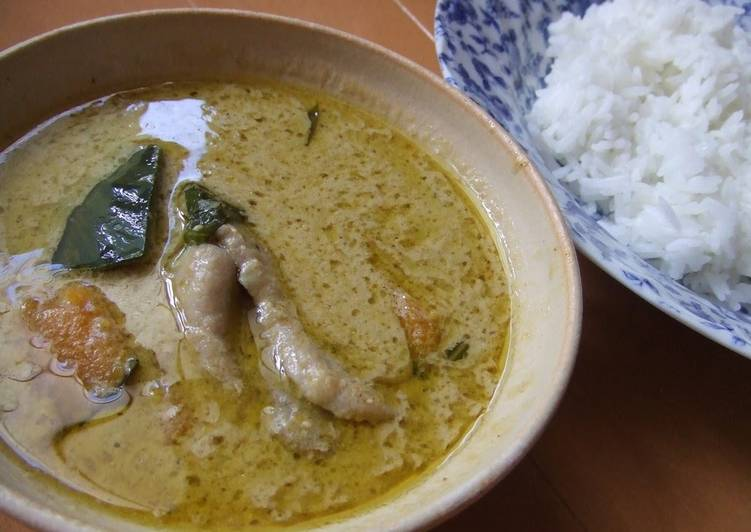 Recipe of Perfect 20 Minutes in a Frying Pan: Thai Green Curry