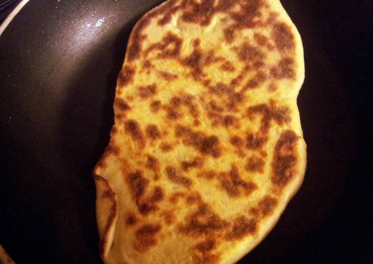 Simple Way to Prepare Any-night-of-the-week Sheree's Garlic Naan (Indian flat bread)