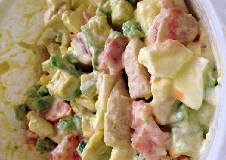 Mel Chicken And Mayo Salad