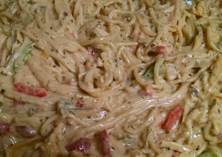 Recipe of Super Quick Homemade Chicken spaghetti