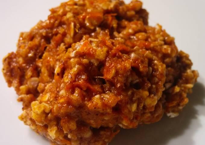 Recipe Good Carrot Oatmeal Cookies (no added sugar)