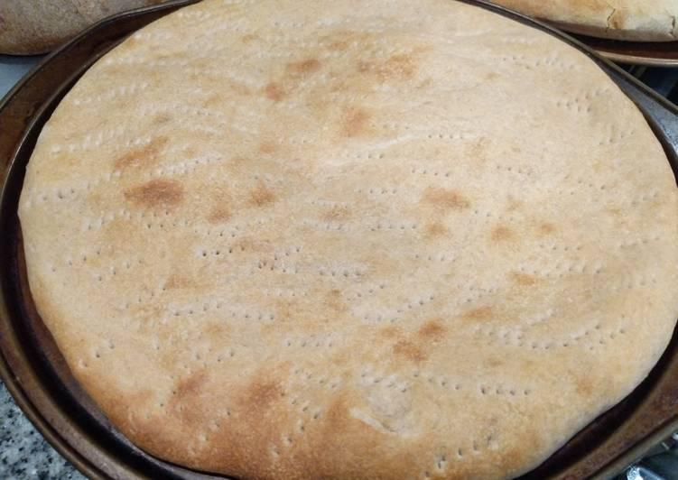 Lazy Sourdough Pizza Crusts