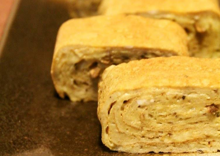Step-by-Step Guide to Make Super Quick Homemade Tamagoyaki Made With Burdock Root Tea