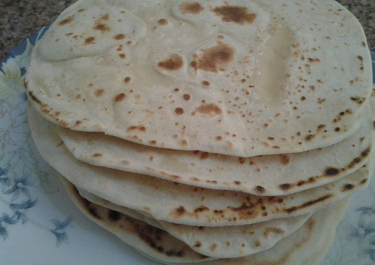 Going Green for Good Health By Dining Superfoods VERY easy flour tortillas (with pictures!)