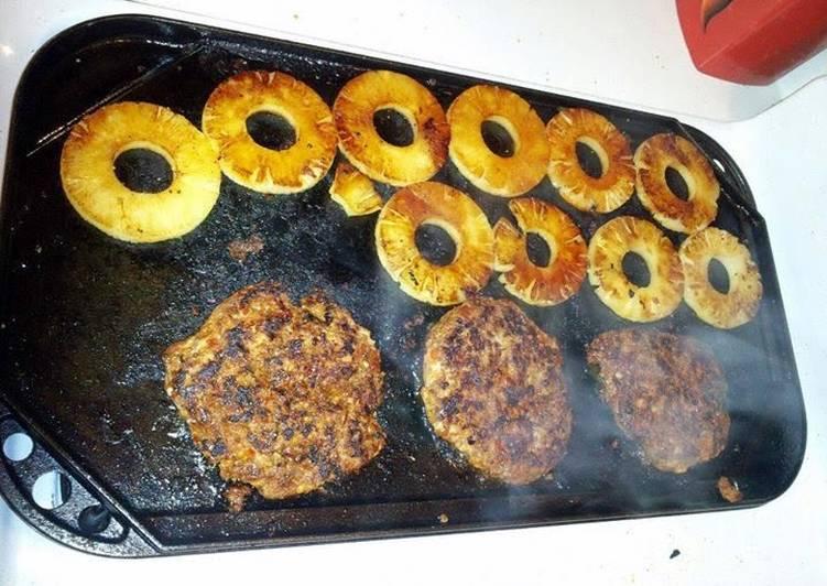 Ray's' Al Pastor hamburgers
