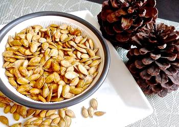How to Make Tasty Crispy Toasted Pumpkin Seeds