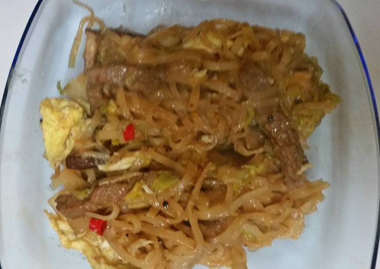 Beef Fried Noodles (Thai style), Some Foods That Are Helpful To Your Heart
