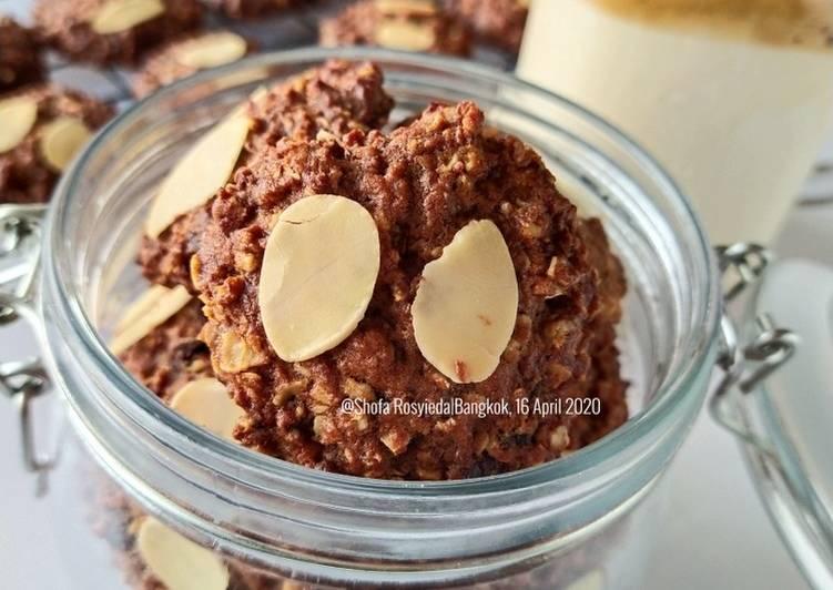 Coffee Oat Cookies