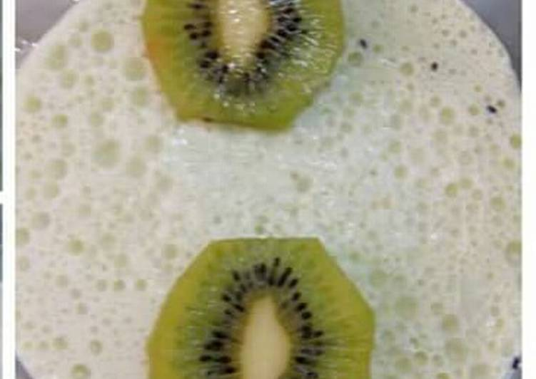 Recipe of Homemade Kiwi ice cream