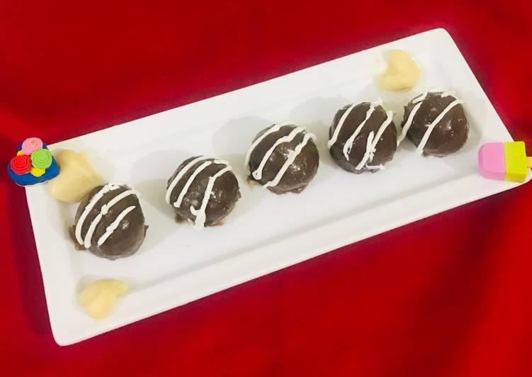 How to Make Yummy Choco marie (biscuits) balls