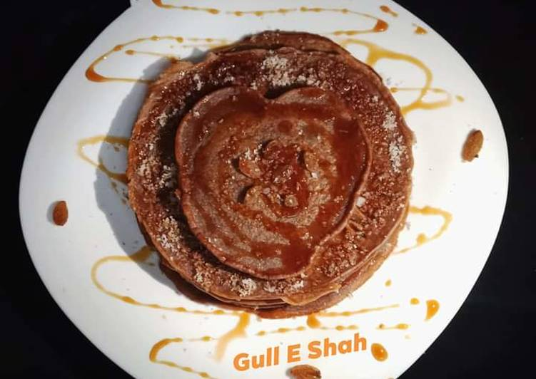 Recipe of Speedy Chocolate Pancake