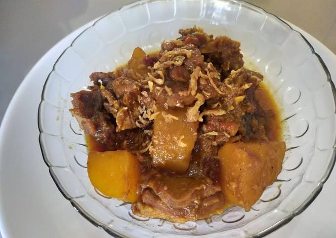 Semur Kambing/Semur Daging kentang