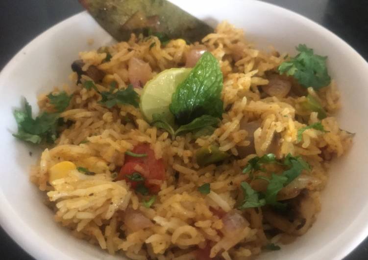 Step-by-Step Guide to Make Quick Subz Pulao