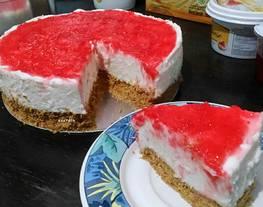 No Bake Cheesecake (Cheesecake tanpa oven)