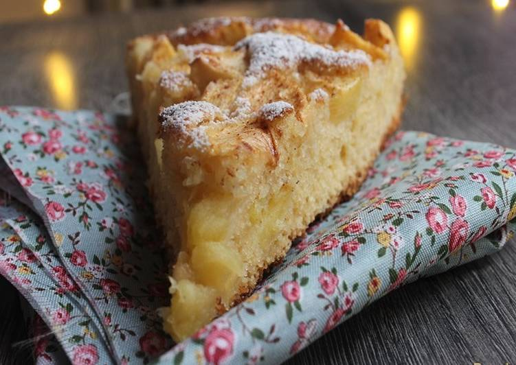 Recette: Gâteau aux pommes rapide