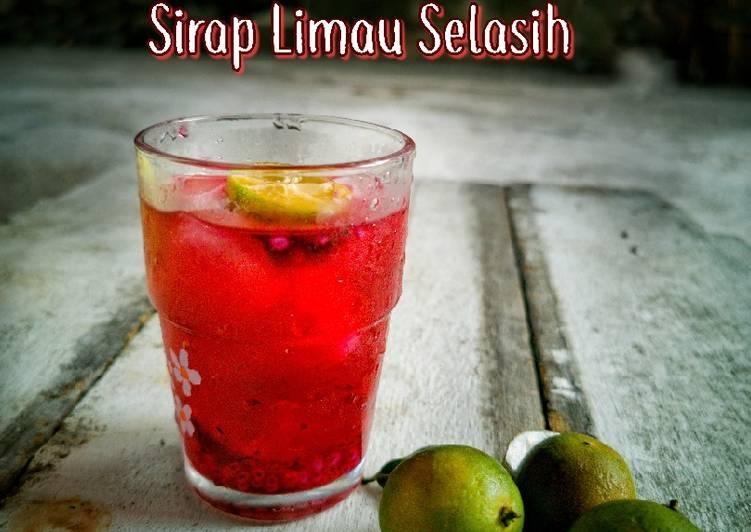 Sirap Limau Selasih - resepipouler.com