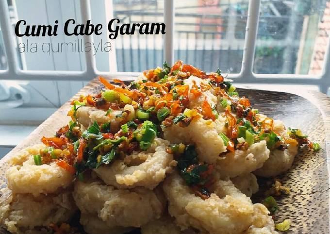 Cumi Cabe Garam Endulita | Menu masakan praktis untuk buka puasa - projectfootsteps.org
