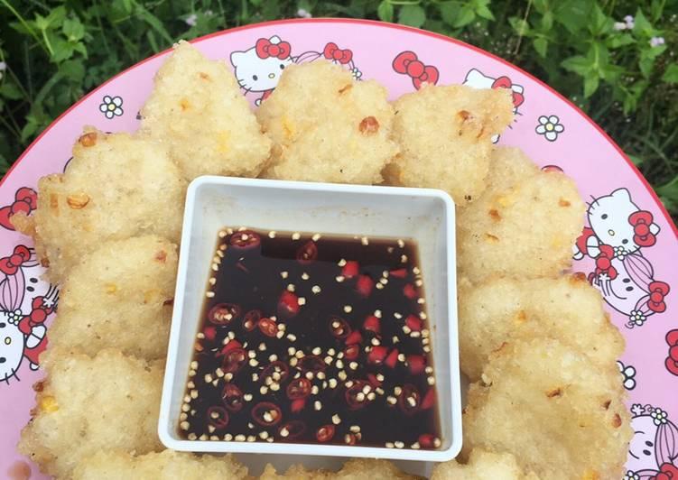Cireng Nasi+Jagung Bumbu Rujak