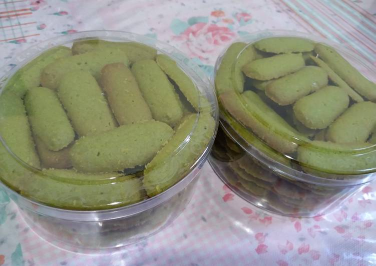 Lidah kucing matcha/green tea