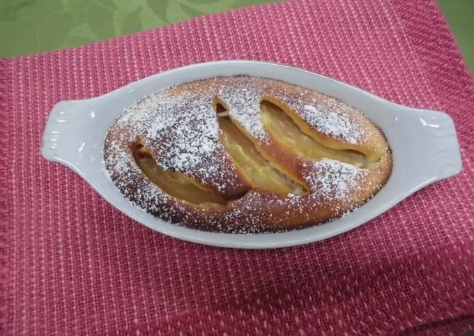 Simple apple butter cake