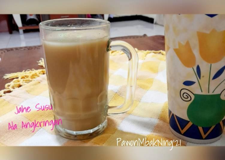 Jahe Susu Ala Angkringan