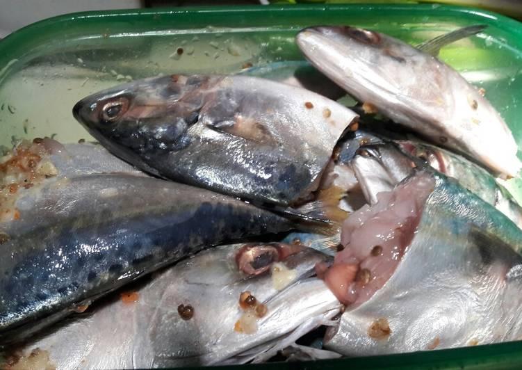 29. Marinasi Ikan Kembung Simple, Enak & Gurih