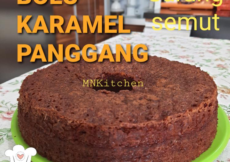 resep memasak Bolu Karamel Panggang - Sajian Dapur Bunda