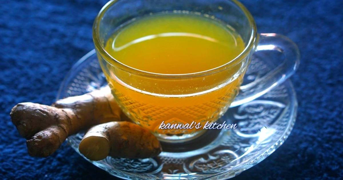 Weight Loss Ginger Turmeric Tea Recipe By Kanwaljeet Chhabra Cookpad