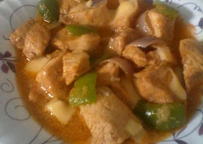 Chicken nawabi boti