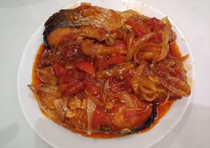 Cara Mudah Membuat Ikan Patin Saus Tiram, Lezat Sekali